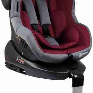Autostoel BabyGO Iso 360 met Isofix Rood (0-18kg)
